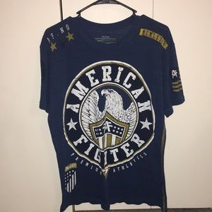 MENS AMERICAN FIGHTER TEE
